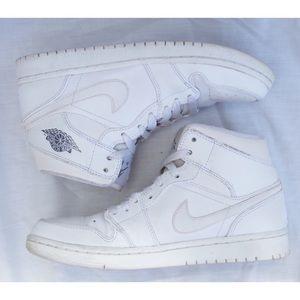 Nike Shoes | White Nike Air Jordan High
